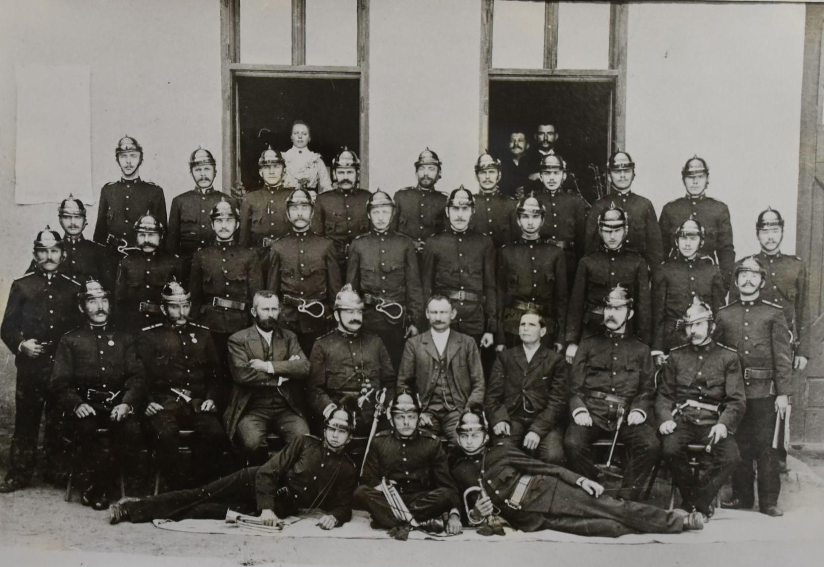 Hasičský sbor v roce 1904